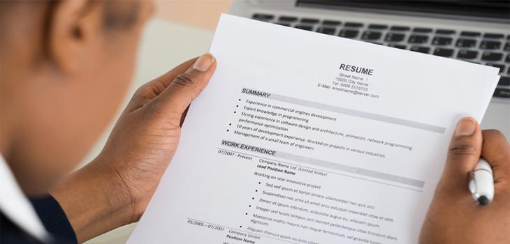 Revising Resume
